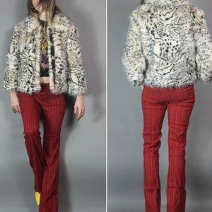 Vigoss Faux fur Super fun party jacket M
